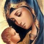 """Palavras de """"Nossa mãe"""" em honra a Maria"""