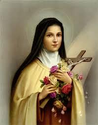 Em homenagem a Santa Teresinha