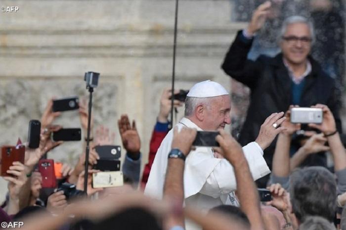 "Papa Francisco: ""Agradeço pelo Ano Santo"""