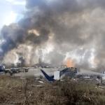 Um padre é um dos sobreviventes de avião acidentado no México