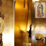 Esta é a única relíquia da imagem original da Virgem de Guadalupe fora do México