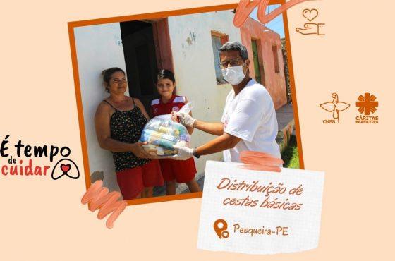 Paróquias ajudam famílias em situação de vulnerabilidade diante da pandemia do coronavírus