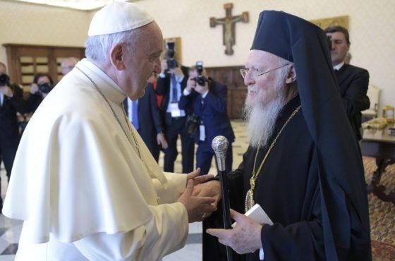 """A saudação de Francisco ao """"amado irmão Bartolomeu"""""""