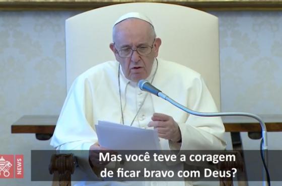O Papa: aprender com Abraão a rezar com fé, a falar com Deus como um filho ao pai