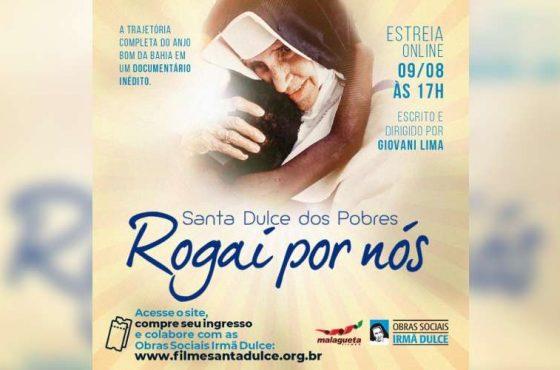 Documentário sobre a vida de Santa Dulce dos Pobres estreia em agosto