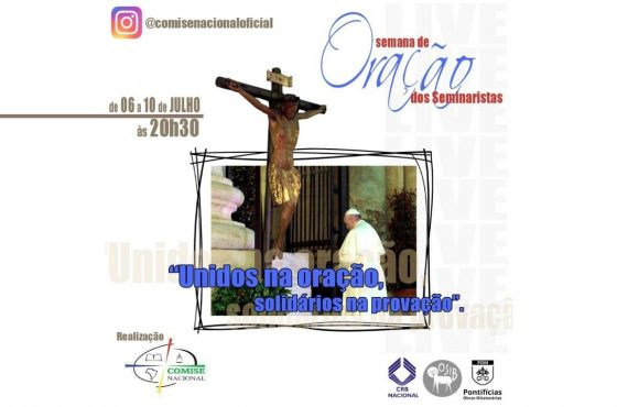 Conselho Missionário de Seminaristas realiza Semana de Oração por vítimas do coronavírus