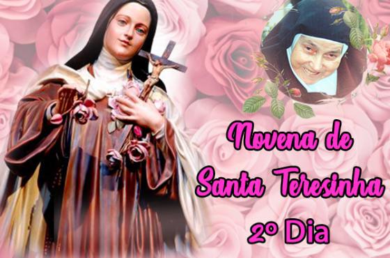 2º Dia - Novena à Santa Teresinha