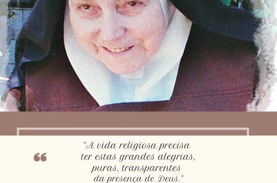 """A vida religiosa precisa ter estas grandes alegrias, puras, transparentes da presença de Deus"""""""
