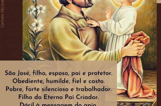 São José, filho, esposo, pai e protetor.