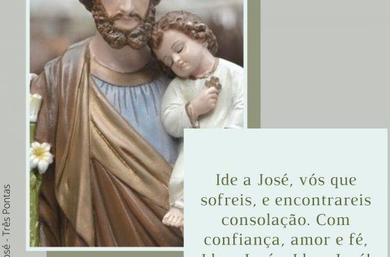 Ide a José vós que sofreis, e encontrareis consolação.